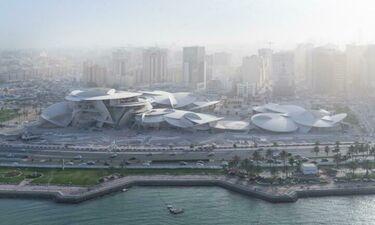 Το Εθνικό Μουσείο του Κατάρ φέρει την υπογραφή του Jean Nouvel και είναι πραγματικά εντυπωσιακό!