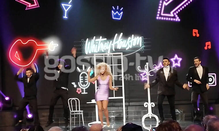 YFSF: Η Εύα Τσάχρα μεταμορφώθηκε σε Whitney Houston και μας ταξίδεψε