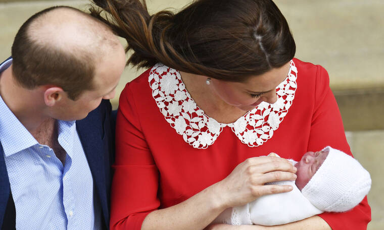 Θυμάσαι πως ήταν τα παιδιά της Kate Middleton και του πρίγκιπα William τη μέρα που γεννήθηκαν