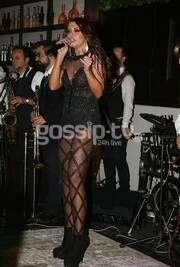 Νίνα Λοτσάρη: Total black look αλλά πάντα sexy
