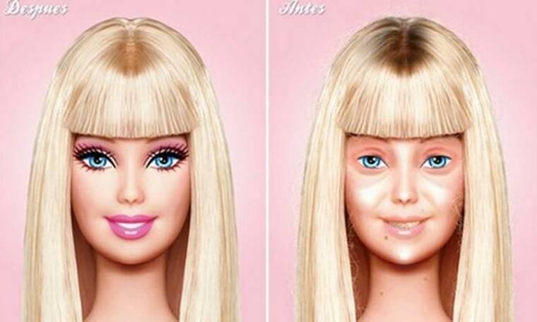 Γροθιά στα στερεότυπα! Η Barbie εμφανίζεται χωρίς μακιγιάζ και σκορπά χαμόγελα