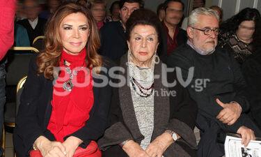 Η Μιμή Ντενίση σε εκδήλωση με τη μητέρα της - Η βράβευση της ηθοποιού