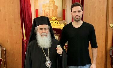 Κωνσταντίνος Αργυρός- Η συνάντηση με τον Πατριάρχη Ιεροσολύμων!