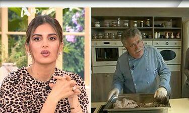 Λευτέρης Λαζάρου: Η αντίδρασή του όταν άκουσε για τη συνταγή με εγκέφαλο γαρίδας στο MasterChef