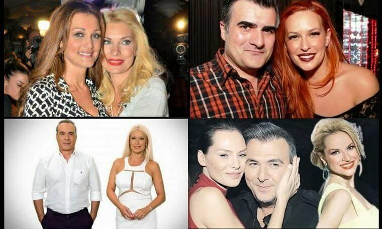 Νονοί και βαφτιστήρια της ελληνικής showbiz - Ποιοι επώνυμοι έχουν κουμπαριάσει; (photos)