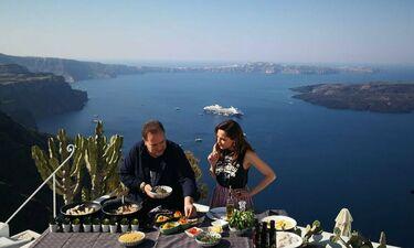 «My Greece»: Με τη Δέσποινα Βανδή στη μαγευτική Σαντορίνη