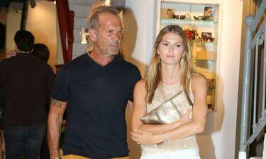 Ο Πέτρος Κωστόπουλος στην Αμερική με την κόρη του Αμαλία - Η καλύτερη έκπληξη (photos)