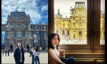 Τσιμιτσέλης - Γερονικολού: Πήγαν Παρίσι και δεν φαντάζεστε με ποια ηθοποιό συναντήθηκαν! (photos)