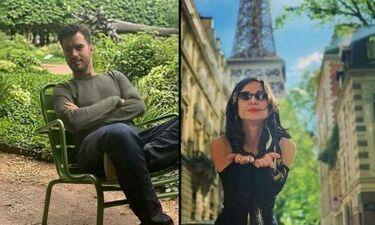 Τσιμιτσέλης - Γερονικολού: Μετά την Αλεξανιάν συνάντησαν κι άλλον Έλληνα ηθοποιό στο Παρίσι (photos)