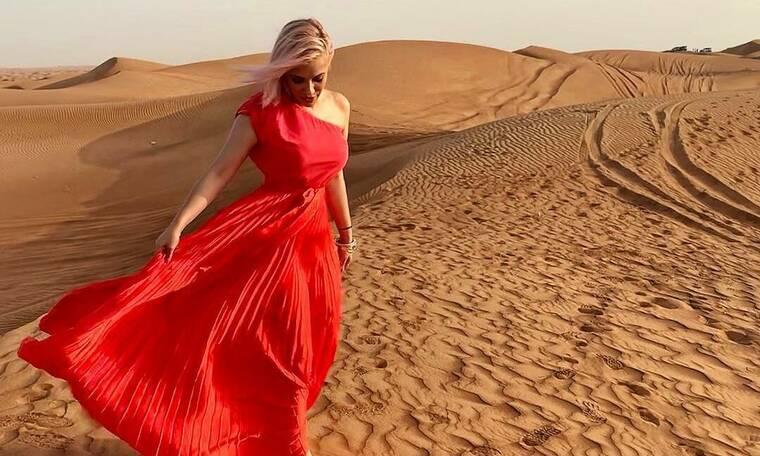 Απόδραση στο Ντουμπάι για την Λάουρα Νάργιες (photos)