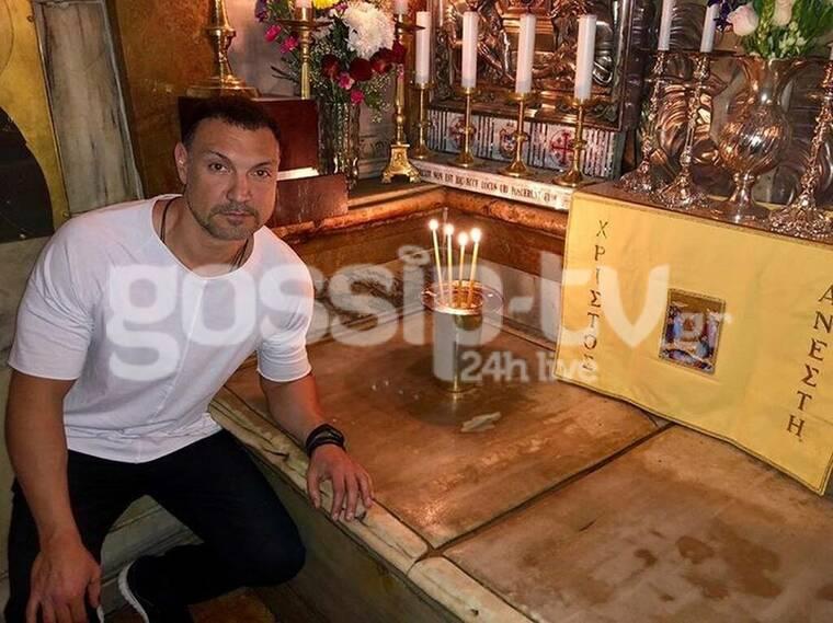 Τζίμης Σταθοκωστόπουλος: «Έτσι έζησα το θαύμα στα Ιεροσόλυμα» (exclusive photos)