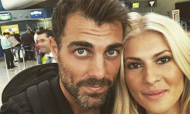 Στέλιος Χανταμπάκης - Όλγα Πηλιάκη: Βάφτισαν την κόρη τους, Μαλένα, στον Βόλο!