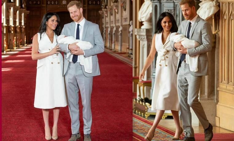 Meghan Markle - Πρίγκιπας Harry: Καρέ καρέ η πρώτη εμφάνισή τους με το μωρό (Photos)