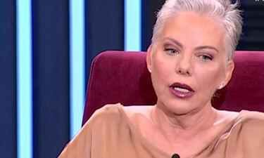 Συγκλονίζει η Νανά Παλαιτσάκη: Έμαθε on air για τον θάνατο του πρώην συζύγου της (video)