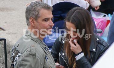 Άρης Σπηλιωτόπουλος: Με τη σύντροφό του στο Πόρτο Χέλι(exclusive photos)