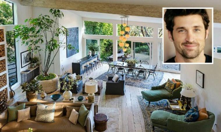 Το ονειρεμένο σπίτι του Patrick Dempsey στο Malibu (pics)