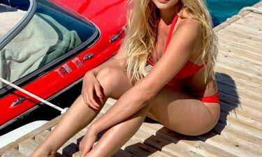 Ελληνίδα ηθοποιός ανεβάζει τη θερμοκρασία με το καυτό μαγιό της (photos)