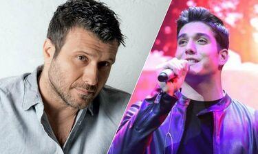 Ο Γιάννης Πλούταρχος τραγουδά τα τραγούδια που του γράφει ο γιος του και το χαίρεται