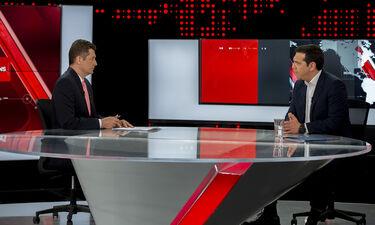 Με απίστευτα νούμερα τηλεθέασης η συνέντευξη του Πρωθυπουργού στον Σρόιτερ
