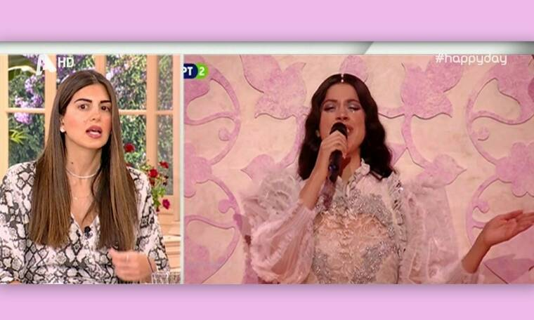 Eurovision 2019: Η απίστευτη παρατήρηση της Τσιμτσιλή για την εμφάνιση της Κατερίνας Ντούσκα (Vid)