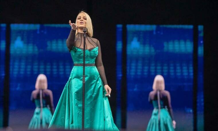 Eurovision 2019: Σκόπια: H Tamara εμφανίστηκε με καθρέφτες και πολλαπλά είδωλα (photos & vid)