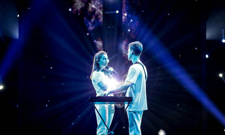 Eurovision 2019: Σλοβενία: Συγκινητική εμφάνιση επί σκηνής (photos+video)