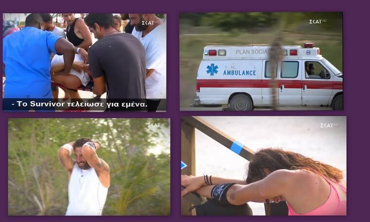 Survivor: Σοκαριστικός τραυματισμός παίκτη – Μεταφέρθηκε εσπευσμένα στο νοσοκομείο (photos-video)