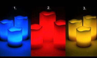 Διάλεξε το κερί που σου τράβηξε την προσοχή και δες τι κρύβει για σένα!