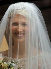 Η νύφη με την τιάρα της Ελληνίδας γιαγιάς της