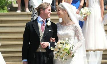 Η Λαίδη Gabriella Windsor παντρεύτηκε φορώντας κοσμήματα της Ελληνίδας γιαγιά της (photos)