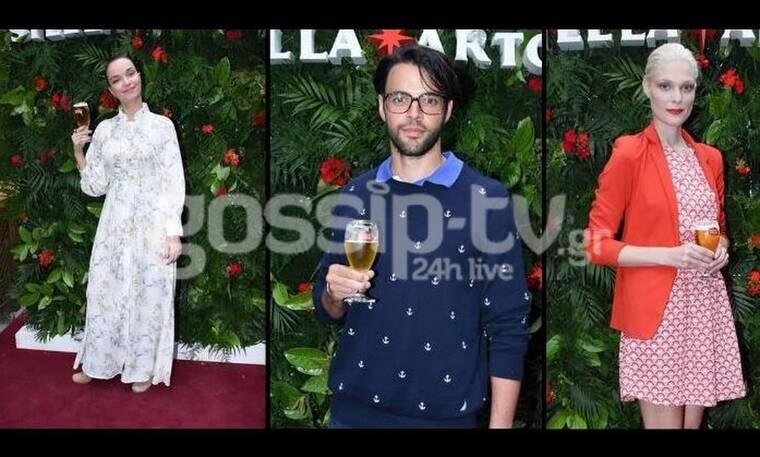 Οι celebrities πήγαν σε εκδήλωση και απόλαυσαν τη μπύρα τους (photos)