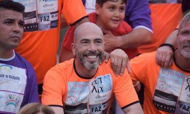Βαλάντης: Πήρε μέρος σε φιλανθρωπικό ποδοσφαιρικό αγώνα (photos)