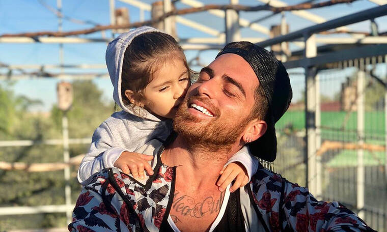 Δώρος Παναγίδης: Οι τρυφερές φώτο με την κόρη του στο Instagram (pics)