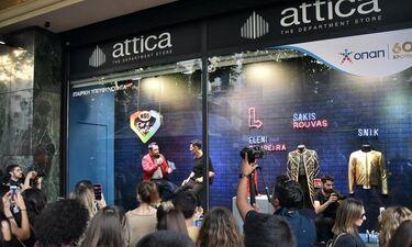 Γιατί Σάκης Ρουβάς, Ελένη Φουρέιρα και SNIK μπήκαν στη βιτρίνα του attica City Link;