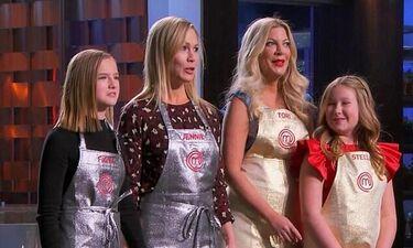 Tori Spelling-Jennie Garth: Μπήκαν στην κουζίνα του MasterChef με τις κόρες τους (photos)