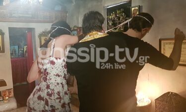 Πέτα τη φριτέζα: Ξαφνικός γάμος για τον Σεφ Ορλώφ! (Exclusive Photos- Video)