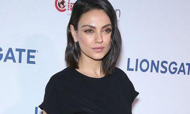Η Mila Kunis χωρίς μακιγιάζ είναι σαν μικρό κορίτσι