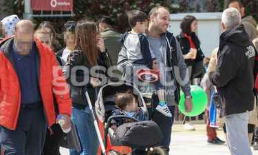 Ελένη Καρποντίνη - Βασίλης Λιάτσος: Μια ευτυχισμένη οικογένεια (photos)