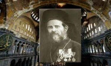 Νουφράκης: Ο Κρητικός παπάς που τόλμησε να λειτουργήσει στην Αγία Σοφία 466 χρόνια μετά Άλωση