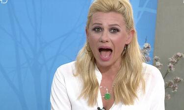 Άφωνη η Καραβάτου! Έξαλλη τηλεθεάτρια διέκοψε τη ροή της εκπομπής- Τι συνέβη; (video)