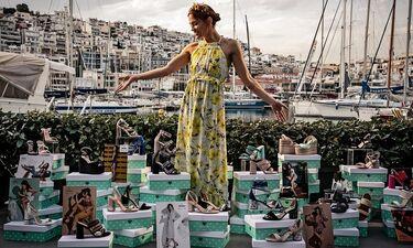 H Envie Shoes παρουσιάζει 14 μοναδικά νέα σχέδια  με την υπογραφή της Μαίρης Συνατσάκη