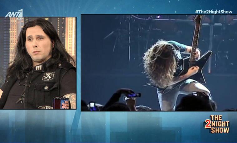 Gus G: O Ozzy Osbourne, οι Lordi, τα... σκυλάδικα και ο γάμος του! (video)