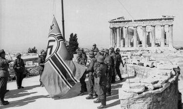 Όταν κατέβηκε η χιλτερική σημαία από την Ακρόπολη
