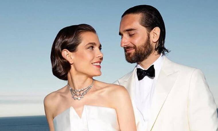 Πριγκιπικός γάμος στο Μονακό! Παντρεύτηκε η Σαρλότ Κασιράγκι τον εκλεκτό της καρδιάς της! (Photos)