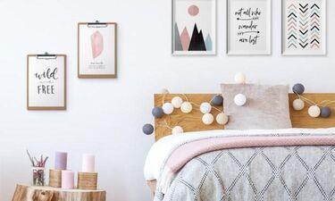 6 DIY που μπορείς να φτιάξεις για να διακοσμήσεις τους τοίχους στο υπνοδωμάτιο