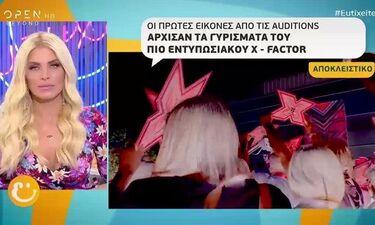 Ξεκίνησαν τα γυρίσματα του X-Factor - Δείτε τα πρώτα πλάνα (video)