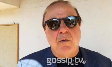 Κηδεία Ευριπιώτη: Συγκινεί ο Χαϊκάλης μιλώντας για τον φίλο του: «Θα θυμάμαι το γέλιο του» (video)