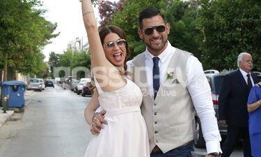 Γάμος Χατζίδου: Το εντυπωσιακό φόρεμα που επέλεξε η νύφη (photos)