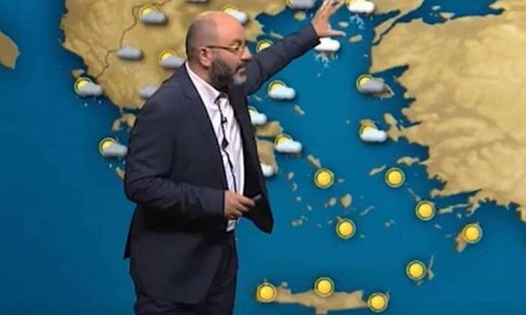 Καιρός: Η προειδοποίηση του Σάκη Αρναούτογλου για την άνοδο της θερμοκρασίας (video)