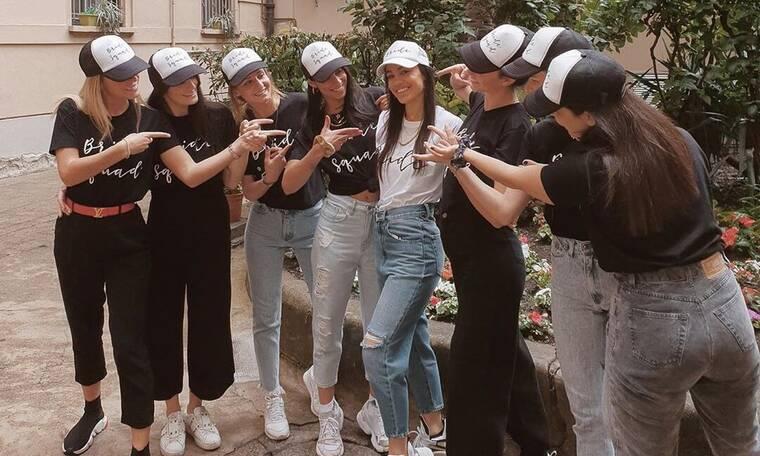 Μιρκέτα Βιδάλη: Το φωτογραφικό album του bachelorette της στο Μιλάνο (photos)